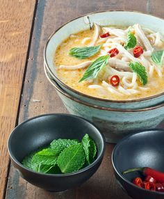 Vietnamese spicy chicken soup