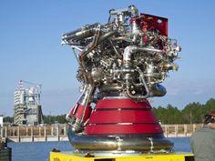 NASA J-2X rocket engine.  A work of art.