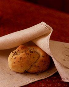 Garlic Rosemary Knots
