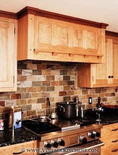 Arts and crafts style home on pinterest craftsman style for Craftsman style kitchen backsplash