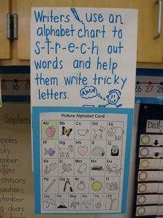 Joyful Learning In KC: Writing Workshop Anchor Charts