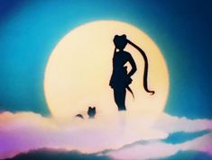 <3 Sailor Moon    Even if the American version I love Sailor Moon