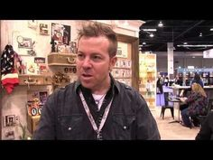 Tim Holtz - New Texture Fades - CHA Winter 2014 - YouTube
