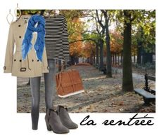 Transitional season outfit | une femme d'un certain âge #style #trench #booties