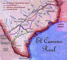 Did you know that in 1836, Texans used a route named El Camino Real de los Tejas (The Royal Road of Texas) to flee from Santa Anna in the Runaway Scrape? Had no idea where the street name came from