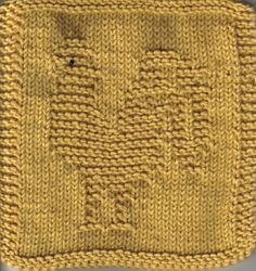 Plants and Animals - Knitted Cloths