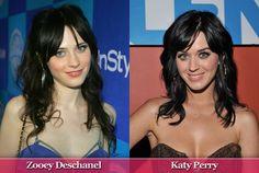 Zooey Deschanel & Katy Perry