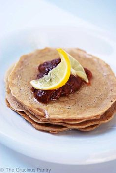 Clean Eating Whole Wheat Pancakes