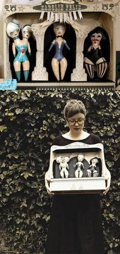 paper Theatre, art doll