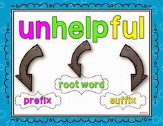 Teaching With Love and Laughter: Prefix and Suffix Freebie