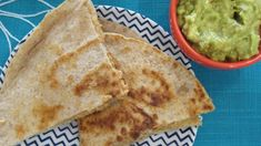 These vegan black bean quesadillas replace the traditional cheese filling with pureed great Northern beans, nutritional yeast, and lots of spices for a tasty Mexican-inspired meal.