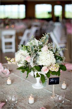 Vintage milk glass inspired wedding day. Captured By: Anna Paschal Photography #weddingchicks http://www.weddingchicks.com/2014/10/17/vintage-milk-glass-wedding/