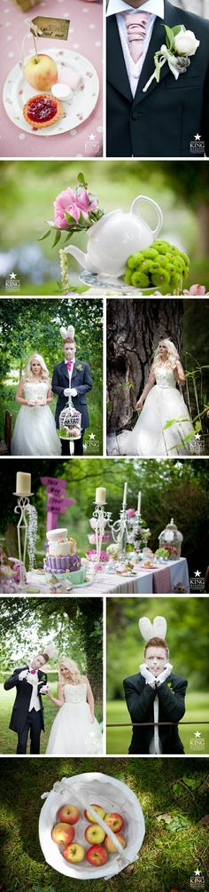 Alice in Wonderland Country Wedding Shoot. Photography by Annemarie King