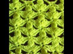 ▶ Узор трилистник крючком (shamrock pattern crochet) - YouTube