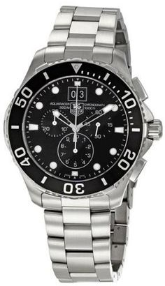 TAG Heuer Men's CAN1010BA0821 Aquaracer Chronograph Watch from TAG Heuer @ TAG-Heuer-Watches .com