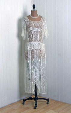 1920's couture dress