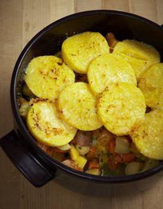 Root Vegetable Pot Pie