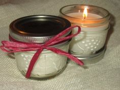 DIY Scented Candles-