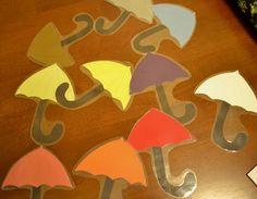 From The Hive: preschool - Umbrella colors poem