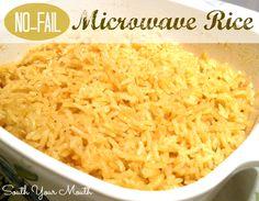 No-Fail Microwavable Rice - 3 Ways
