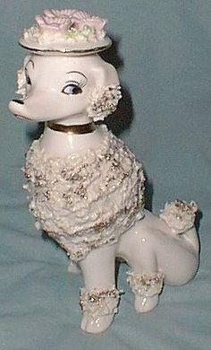 ceramic poodles - Google Search