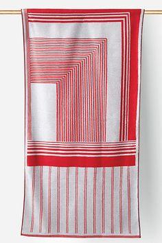 tabula rosa beach towel