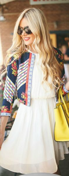 fashion, hair colors, bag, blond, the dress