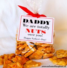 Easy Homeade Peanut Brittle For Father's Day {Gift Idea}