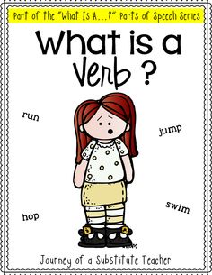 What is a verb? Interactive flaps, poems, and more!
