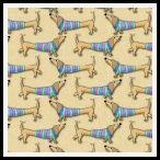 member's free dachshund backing paper pack tan