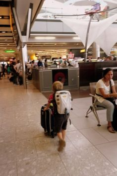 How to pack only carry-on bags for family air travel