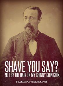Funny beard shaving meme - photo#22