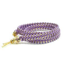 helloberry Triple Wrap bracelet in Lavender $23
