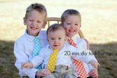 DIY Toddler Ties