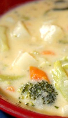 Cheddar Veggie Soup