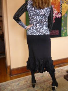 patterns, free pattern, tier skirt, rhonda creativ, fabul free, pattern friday, skirt pattern
