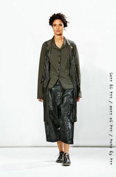 rundholz dip - Jacke mit Bändern black iron - Sommer 2014 - stilecht - mode für frauen mit format...