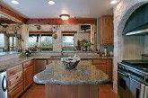 Fancy kitchen island shape