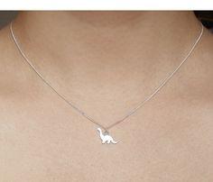 sterling silver dinosaur