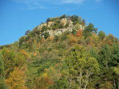 The pinnacles outside Berea Ky