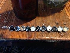 Jewelry made from old typewriter keys. Facebook page: https://www.facebook.com/WestEndArchSalvage/photos/pb.58444695215.-2207520000.1411871103./10152250606760216/?type=1&theater