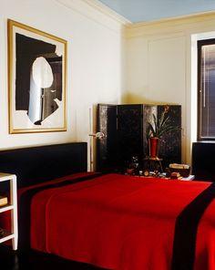 Albert Hadley's bedroom