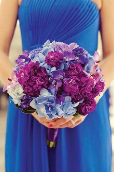 shades of purple, color, wedding bouquets, wedding blog, purple wedding