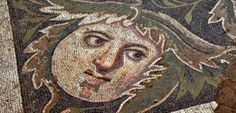 detail of a mosaic from Germanicia hierapolis