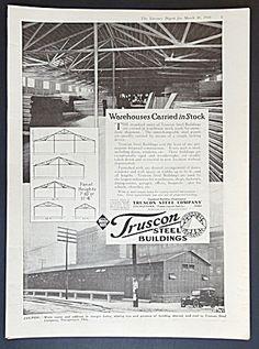 Truscon Steel Company Buildings Ad