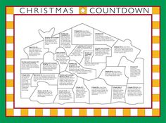 LDS Christmas countdown (scriptures and small activities included)
