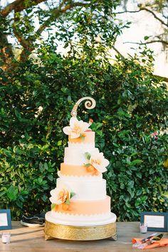 orang cake, orange weddings, citrus orang, gorgeous cake, eat cake