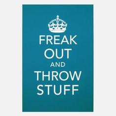 Earmark Social Paper Goods: Freak Out Print