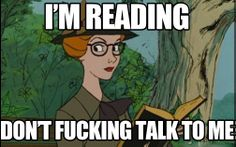 Respect my reading privacy…