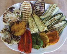 This recipe will have you craving your veggies! Grilled #Summer #Vegetables are the perfect side dish for steak, fish or chicken. It is also a great main dish for vegetarians or vegans.